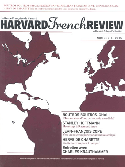 Paradigm Graphics - Portfolio -Harvard French Review