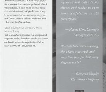 Paradigm Graphics - Portfolio - SCANSOFT
