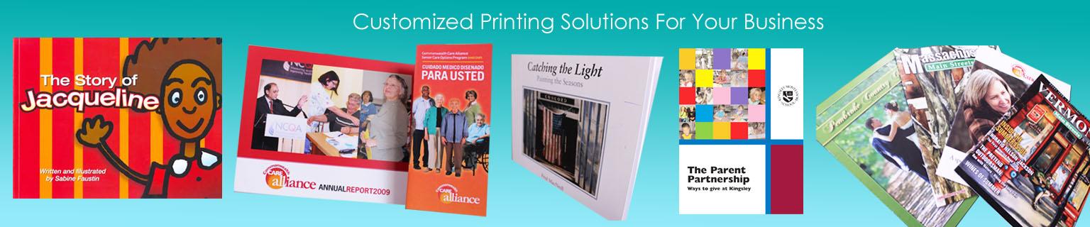 customized printing design